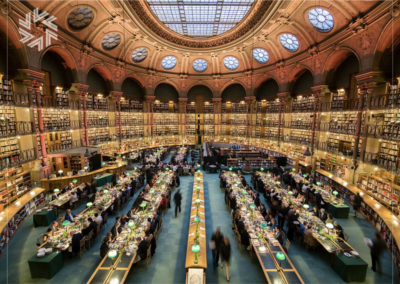 Event in an exceptional place, the Library, by Gold for events