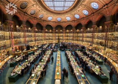 Evénement dans un lieu exceptionnel, la Bibliothèque, par Gold for events