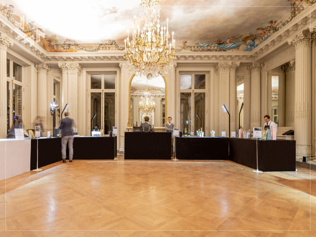 The locations of the event agency in Paris Gold for events