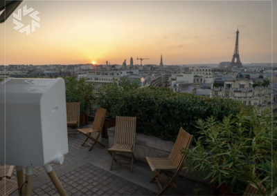 Privatisation de la Terrasse 50 avec Gold for events