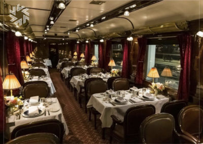 L'Orient Express, par Gold for events