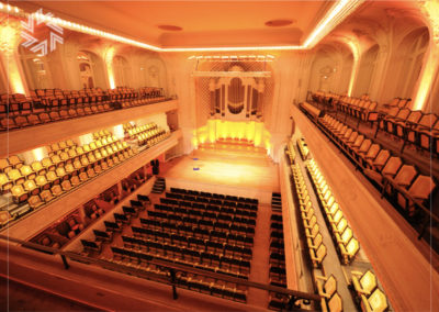 Organize an event in a prestigious concert hall with Gold for events